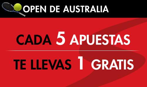 Apuesta en el Australian Open con Sportium y gana 150? en bonos
